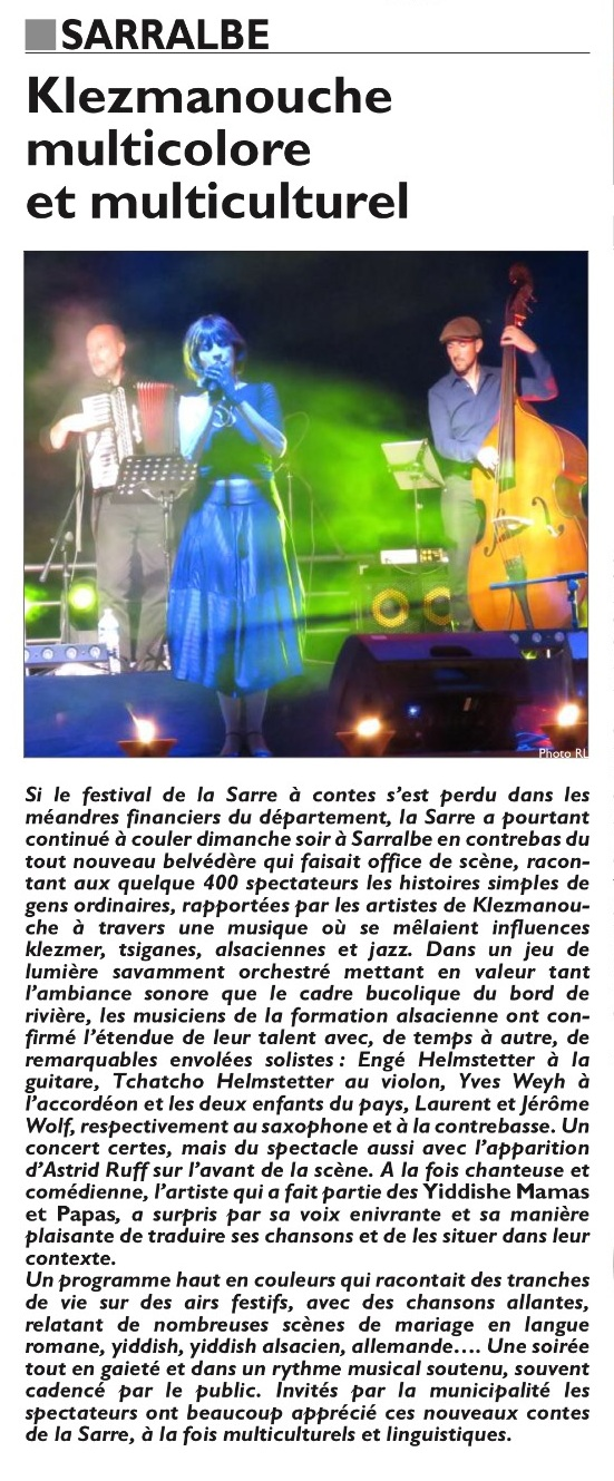 Article Klezmanouche 08 2016